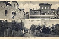 Kielcza na starych pocztówkach