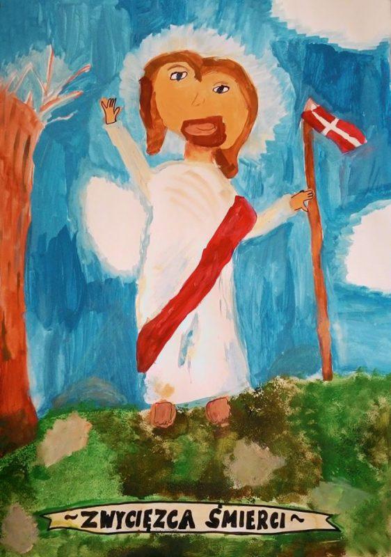 Zwycięzca śmierci - malowała Helenka Wyrwa